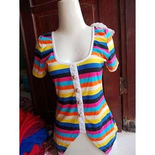 rainbow baju
