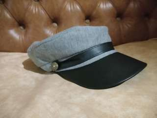 Schoolboy Hat Grey