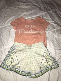 Gingersnaps 3-4y d&g shorts