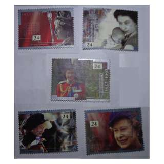 UK STAMPS 1992 - 40 years anniversary of coronation of Queen Elizabeth