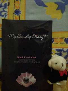 Masker Korea My Beauty Diary Black Pearl Mask