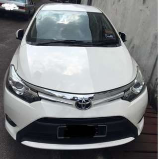 2013 Toyota Vios 1.5G (A)- ONE CAREFUL OWNER