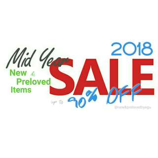 MIDYEAR SALE |Shoes|Clothes|Bag|Makeup