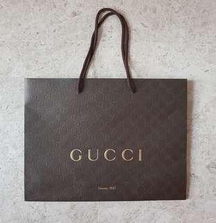 Gucci Paper Bag