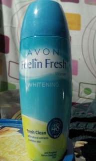 FEELIN FRESH WOMEN WHITENING ROLL-ON DEODORANT FRESH CLEAN 75 ML