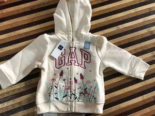 Gap jacket with hoodie for girl