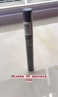 Missha mascara 4D
