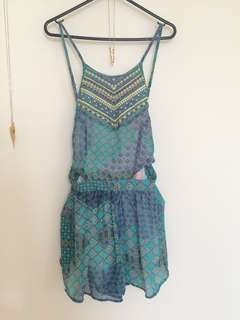 Tribal playsuit