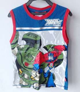 Transformers Animated Singlet