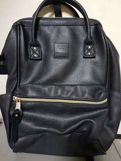 ANELLO leather small backpack