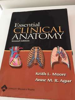 Keith Moore essential clinical Anatomy