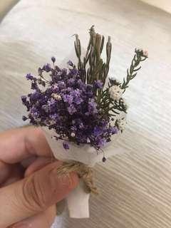 Mini Korean Dried Flower Bouquet (10cm)