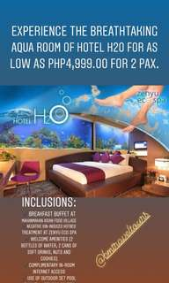 Staycation at Hotel H20