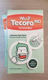Nu3 Tecoro MD for Oral Ulcer