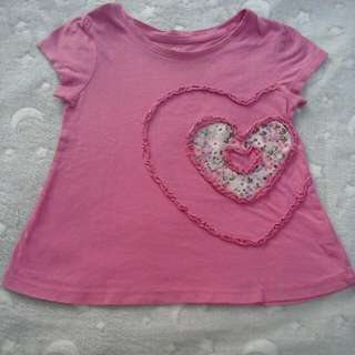 place top shirt girl 3 years