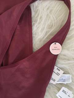 Forever 21, Brand New Mauve Body Suit