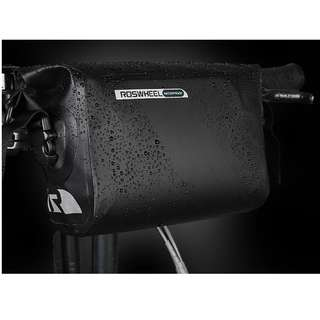💯🆕Roswheel Waterproof Panniers 3L Handlebar Bag With Shoulder Strap