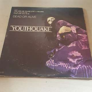 Youthquake Dead or Alive LP Vinyl Record
