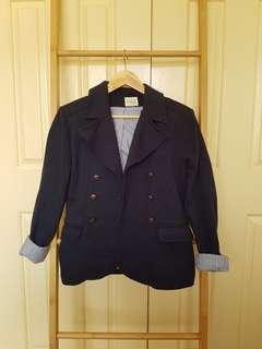 Zara navy blazer