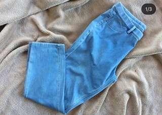 Uniqlo cropped leggings pants