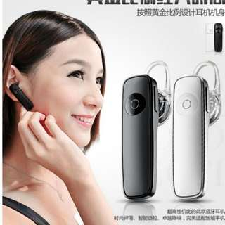 earpiece bluetooth black colour