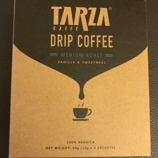 捷榮 TARZA Drip Coffee (Medium roast) 掛耳滴漏咖啡-中度烘焙