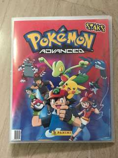 Pokemon Advanced Sticker Album
