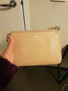 Coach nude pouch