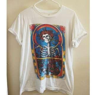 #mausupreme Skull Tshirt