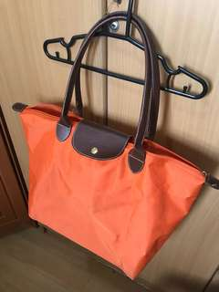 Orange Longchamp Bag (Class A from Macau)