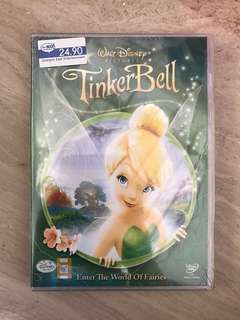 Tinkerbell Enter The World Of Fairies DVD (Brand New & Sealed)