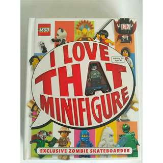 Lego I Love That Minifigure Book
