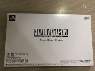 Final Fantasy VII International Advent Pieces : Limited