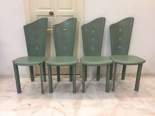 Leather Dining Designer chairs