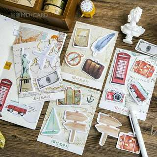 Travel Theme Sticky Notes
