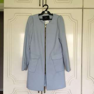 H&M Powder Blue Structured Coat ‼️ BRAND NEW WITH TAG ‼️