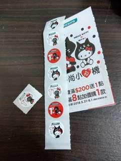 🚚 屈臣氏 Hello Kitty X NYA-時尚小心機 點數