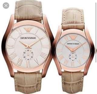 Emporio Armani Couple Watch AR-1667 & AR-1679