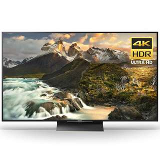 Sony XBR65Z9D 65-Inch 4K Ultra HD Smart LED TV (2016 Model), Works with Alexa