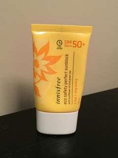 #mausupreme Innisfree Sunscreen
