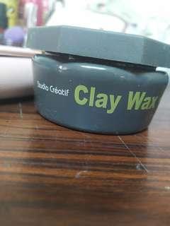 沙緹 clay wax 凝土