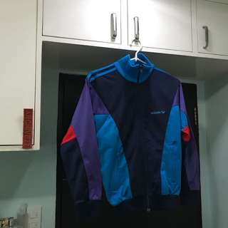 Vintage Adidas Colorblock Jacket