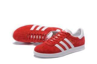 Adidas Gazelle Suede Power Red - original #mausupreme