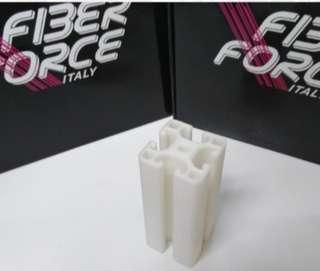 3D Printing Services : Nylon Glass Fiber Materials