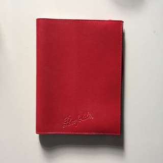 Note book ( red cover ) new ( gd condition )