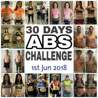 Hottiest Ab Challenge Program