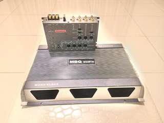 MBQ Monoblock Amplifier