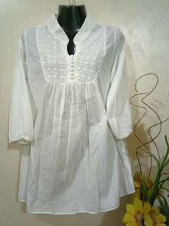 3/4 Sleeves Cotton Top