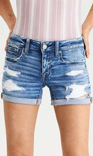 Aeo[American eagle outfitters] high rise denim shorts