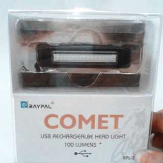 Comet white light lumens rechargeable